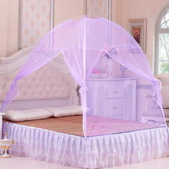 2019新款魔术蚊帐 1.2m床 紫色