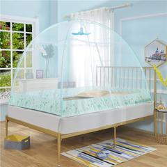免安装家用蚊帐 1.2m(4英尺)床 绿