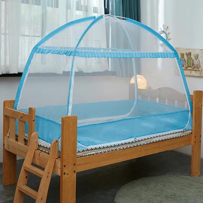 儿童蒙古包 80*160 经典-蓝