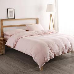 2019新款针织棉套件纯色BB版系列单品 枕套(48*74)/对 001BB纯色