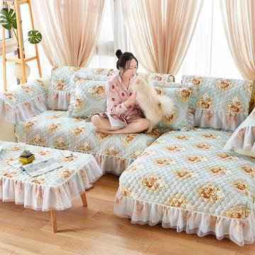 2019升级蕾丝沙发垫