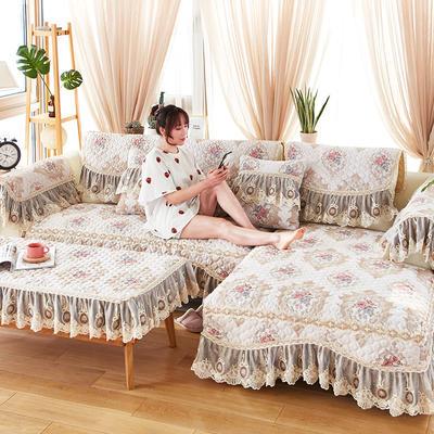 2019新款洛可可系列沙发垫 60*120茶几巾内劲尺寸(通用) 2