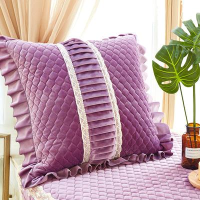 209新款毛绒抱枕-娜莉丝 抱枕套45*45内径通用 娜莉丝-紫
