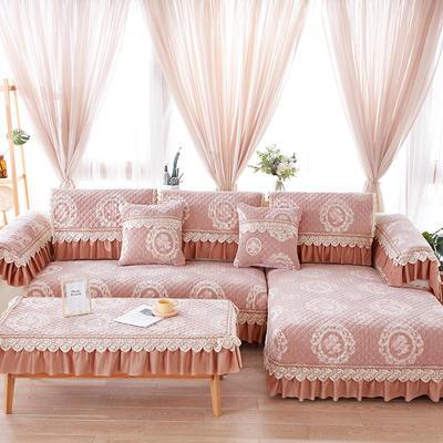 2019新款雪尼尔系列沙发垫 70*70+20cm边 浅杏