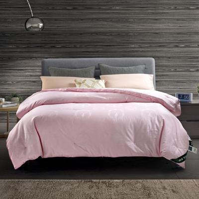 2019新款-春秋蚕丝被系列摩洛维亚 150x200cm 粉色