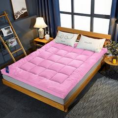 2019新款羽丝绒立体床垫 90*200cm 粉色