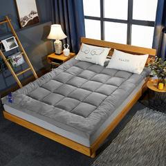 2019新款羽丝绒立体床垫 90*200cm 灰色
