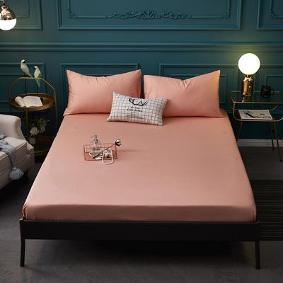 全棉13372纯色单床笠床单 席梦思保护套 0.9*2.0m/高30cm 玉色