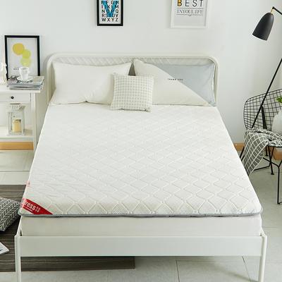 2019新款三明治针织单边床垫10公分 90*200-10cm 灰色