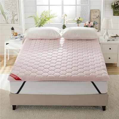 2019新款全棉加厚床垫 90*200-6cm 全棉加厚-粉