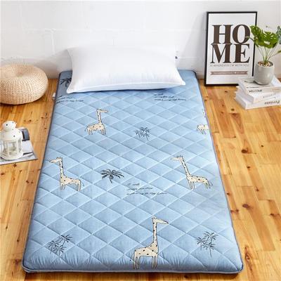2019新款磨毛加厚床垫 90*200cm 长颈鹿