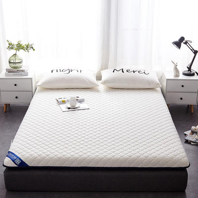 2019新款乳胶三明治床垫--大床款 90*200cm 蜂窝白床垫6公分