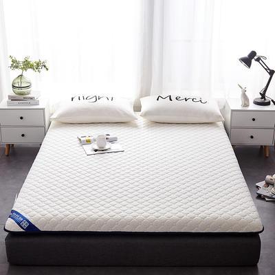 2019新款乳胶三明治床垫--大床款 90*200cm 蜂窝白床垫10公分