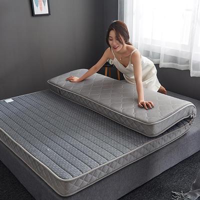2019新款乳胶记忆海绵床垫-10公分 90*200-10cm 立体灰