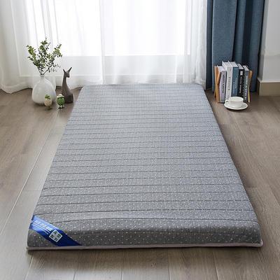 2019网红爆款乳胶海绵学生床垫-6公分 0.9m*2.0m 单边灰色
