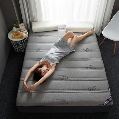 2019新款针织记忆海绵床垫-6公分 10公分 180*200cm 吉羊-灰(6公分)