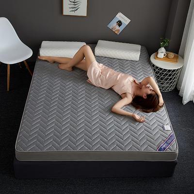 2019新款针织记忆海绵床垫-6公分 10公分 180*200cm 立体波纹-灰(6公分)