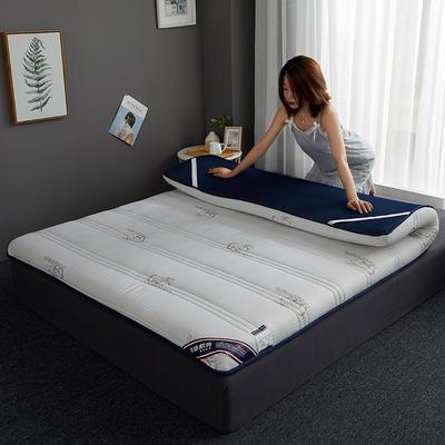2019新款针织记忆海绵床垫-6公分 10公分 180*200cm 吉羊-白(10公分)