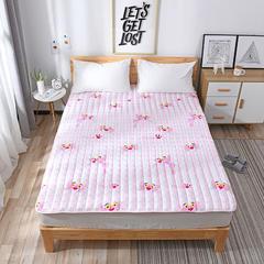 2019新款磨毛床垫 0.7x1米 粉红豹