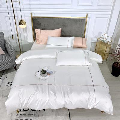 2019新款双面水洗真丝-米兰 1.8m(6英尺)床 珍珠白