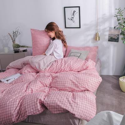 2019新款海藻棉INS小清新系列四件套 2.0m(6.6英尺)床 暮光