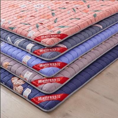 2020新款 暖心舒适加厚防滑床垫-(欢乐时光-紫) 1.2*2.0m 欢乐时光-紫