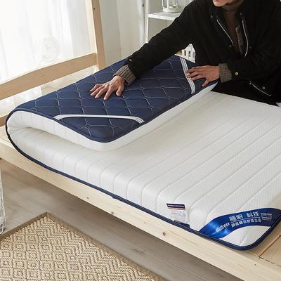 2019新款升级款乳胶记忆棉学生床垫 90*190 单边白(6公分)