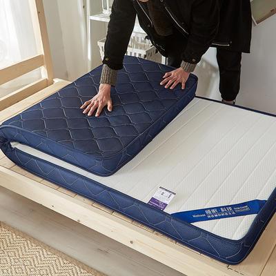 2019新款升级款乳胶记忆棉学生床垫 90*190 立体白(6公分)