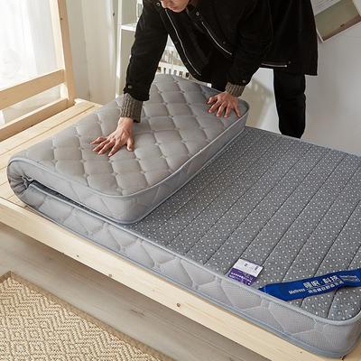2019新款升级款乳胶记忆棉学生床垫 90*190 立体灰(6公分)