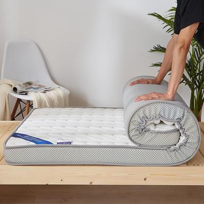2019新款升级款乳胶记忆棉学生床垫 90*190 尊贵白(10公分)