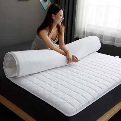 2019新款單邊款磨毛壓花抗菌床墊 90*190 白色