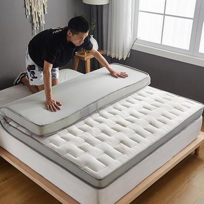 2020新款学生款针织立体透气5D床垫 80*200/80*190 白色