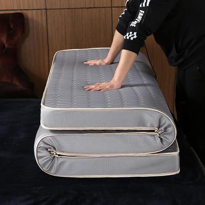 2020新款冰感乳胶立体床垫 90*200 灰色(5公分)