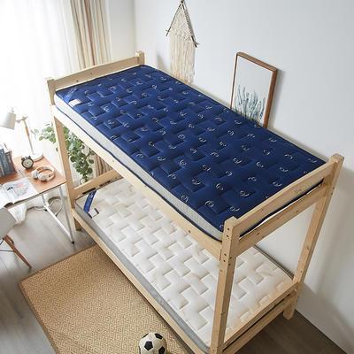 2020新款学生款针织立体透气5D床垫 80*200 蓝色