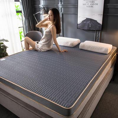 2020新款四季款乳胶记忆海绵立体床垫 0.9*2.0 密道灰(5cm)