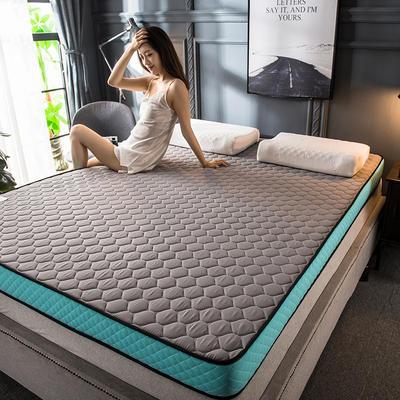2020新款四季款乳胶记忆海绵立体床垫 0.9*2.0 优雅灰(5cm)