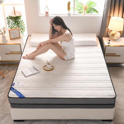 2021新款针织乳胶立体有氧棉床垫 0.9*1.9m 竹叶白(10cm)