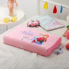 官方正版授权迪士尼儿童乳胶枕 冰雪奇缘-粉(小号)
