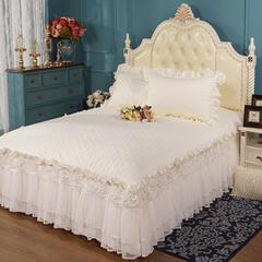 2019新款 13376全棉蕾丝床裙-亮片床裙 枕套单层 /对 亮片床裙