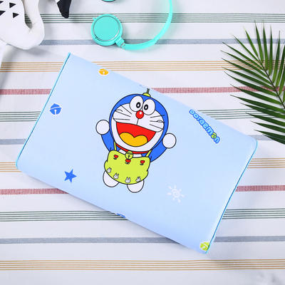 2019新款全面卡通儿童乳胶枕 27*44/只 机器猫