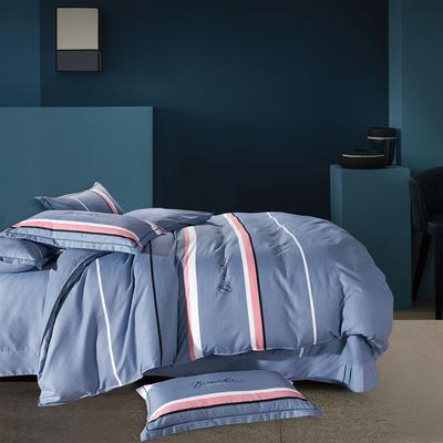 2019秋冬新款INS风加厚磨毛四件套美肤棉轻奢系列 1.2m(4英尺)床 卡曼斯