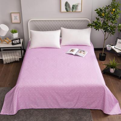 芦荟棉床单单件学生宿舍单人床1.2m双人床1.8m 90cmx210cm 格调