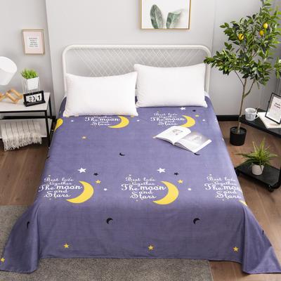 芦荟棉床单单件学生宿舍单人床1.2m双人床1.8m 90cmx210cm 静夜