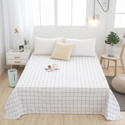芦荟棉床单单件学生宿舍单人床1.2m双人床1.8m 90cmx210cm 一米阳光