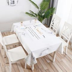 2019新款桌布 140*100cm 栀子白