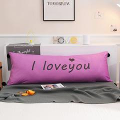 萌萌小屋2019ins简约公主床头长靠背沙发塌塌米软包大靠垫双人可拆洗加成靠枕 0.9m*0.5m LOVE