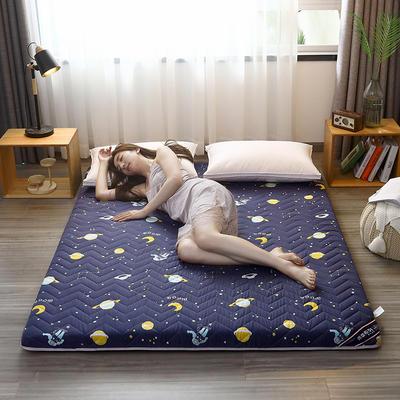 2020新款加厚磨毛印花床垫-6cm 0.9m 快乐星球