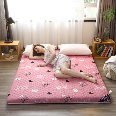 2020新款加厚磨毛印花床垫-6cm 0.9m 少女心