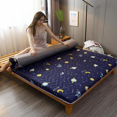 2020新款加厚磨毛印花床垫-10cm 0.9m 快乐星球