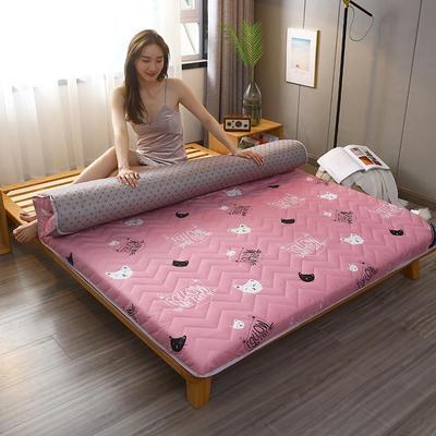 2020新款加厚磨毛印花床垫-10cm 0.9m 少女心